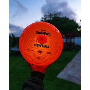 Tangle NightBall Basketball Orange