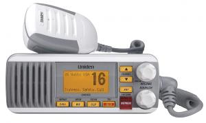 Uniden UM385 25 Watt Fixed Mount Marine Vhf Radio, Waterproof IPX4 with Triple Watch, Dsc, Emergency