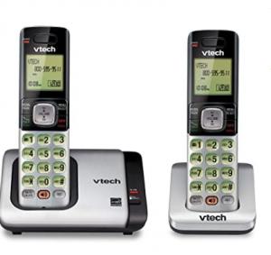 VTech CS6719-2 2-Handset Expandable Cordless Phone with Caller ID/Call Waiting, Handset Intercom & B