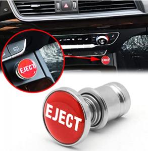 Xotic Tech Eject Button Car Cigarette Lighter Replacement 12V Accessory Push Button Fits Most Automo