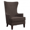 Abbey Avenue Millie Accent Chair in in, Chocolate