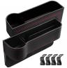 Adrinfly 2 Pack Car Seat Gap Filler, Car Front Seat Gap Organizer - Multifunctional Car Front Seat S