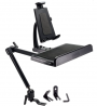 Arkon Heavy Duty Tablet and Keyboard Tray Combo Car Mount Retail Black