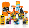 Armor All Premier Car Care Kit (8 Items) - 3pc Ultra Wax & Wash Kit, 3pc Interior, Glass Cleaner & A