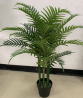 artificial palm plants decor garden hotel home office dedicated green tree