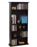 Atlantic Drawbridge Media Storage Cabinet - Store & Organize A Mix of Media 240Cds, 108DVDs Or 132 B