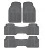 BDK 783-3Row ProLiner Original Heavy Duty 4pc Front & Rear Rubber Floor Mats for Car SUV Van (for 3