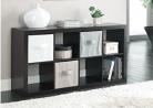 Better Homes and Gardens 8-Cube Organizer, Espresso