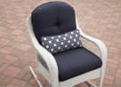 Better Homes and Gardens Azalea Ridge Rocker, White