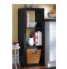 Better Homes and Gardens Versatile 3-Cube Organizer (Black)