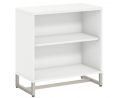 Bush Business Furniture Office by kathy ireland Method Bookcase Cabinet, White