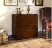 Bush Furniture kathy ireland Home Ironworks Lateral File Cabinet, Coastal Cherry