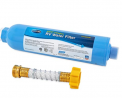 Camco 40043 TastePure RV/Marine Water Filter with Flexible Hose Protector   Protects Against Bacteri
