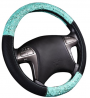 CAR PASS Delray Lace and Spacer Mesh Steering wheel covers universal for vehicles,Suv (Mint)