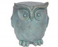 Christopher Knight Home 307406 Agnes Owl Garden Stool, Lightweight Concrete, Gold Patina Finish