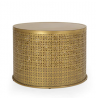 Christopher Knight Home Noxon Coffee Table, Gold Brush Brown