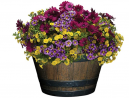 Classic Home and Garden S1027D-037Rnew Whiskey Barrel Planter, 20.5