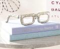 Cyan Design 08827 Sculptured Spectacles Ideal Gift for Wedding, Floral / Floor Vase, Party, Home Dec