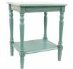 Décor Therapy Blue Simplify End Table Oak