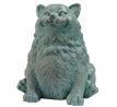 Design Toscano EU1090 Sitting Phat Cat Statue, Multicolored