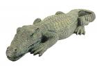 Design Toscano The Swamp Beast Lawn Alligator Crocodile Garden Sculpture, 37 Inch, Polyresin, Full C