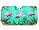 DPIST Flamingos Car Windshield Sun Shade Universal Fit Car Sunshade-Keep Your Vehicle Cool. UV Sun a
