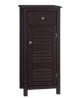 Elegant Home Fashions Danbury Freestanding Cabinet with 1 Door and 1 Draw-Espresso, Standard