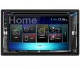 EnrockAutomotive DV695MB-EGMDK90UP-70-1858 Dual Double-DIN Multimedia Bluetooth DVD Receiver, Instal