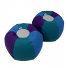 FDP SoftScape 10 inch Puffs Bean Bag Seating Set for Toddlers and Kids, Colorful, Flexible and Light