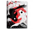 Funny Ugly Christmas Sweater Koi Fish Canvas Wall Art Yin Yang Home Decor Prints 8