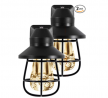 GE Vintage LED Night Light, 2 Pack, Plug-in, Dusk-to-Dawn, Farmhouse Décor, Rustic, UL Listed,, Ide