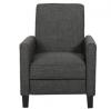 Great Deal Furniture Lucas Grey Recliner Club Chair