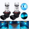 HOCOLO 9005 HB3 H10 100W Samsung Chip LED Fog Light Lamp Bulbs for DRL Fog Driving Lights 8000K Ice