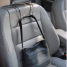 July miracle Car Hook, 2Pcs Stainless Steel Backseat Headrest Storage Rack for Grocery Bag Purse Tot