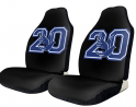 Keerqingqu Zeta Phi Beta Car Seat Covers Interior Mat Cushion Pad Accessories Super Soft Vehicle Sea