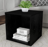 Lavish Home End Stackable Contemporary Minimalist Modular Cube Accent Table or Shadowbox for Bedroom
