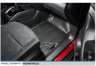 MAXLINER Custom Fit Floor Mats 1st Row Liner Set Black for 2014-2019 Nissan Rogue (No Rogue Sport or
