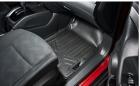 MAXLINER Custom Fit Floor Mats 2 Row Liner Set Black for 2014-2019 Nissan Rogue (No Rogue Sport or S