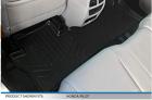 MAXLINER Floor Mats 2 Row Liner Set Black for 2016-2021 Honda Pilot