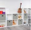 Milliard Storage Cube Organizer - 6 Storage Cubes / Organizer Shelf / White