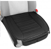 Motor Trend Black Universal Car Seat Cushions, Front Seat 2-Pack – Padded Luxury Cover with Non-Sl