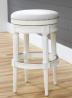 NewRidge Home Goods Backless Chapman Bar Height Stool White (NR107183-FBS-AW)