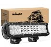 Nilight - NI06A-72W 12Inch 72W Spot Flood Combo Led Light Bar Off Road Lights Boat Lights Fog Light