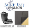 North East Harbor Waterproof Durable 5th Wheel Toy Hauler RV Motorhome Cover Fits Length 26'-29' New