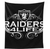 Oakland American Football Raiders Tapestry Art Wall Tapestry Wall Hanging Home Decor Tapestry 50x61