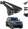 OMAC Auto Exterior Accessories Roof Rack Crossbars   Aluminum Lockable Black Roof Top Cargo Racks  
