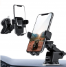 ORIbox Car Phone Mount, Dashboard Car Phone Holder, Washable Strong Sticky Gel Pad Fit for All Cell