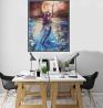 PO12DCSD Marine Goddess Mermaid Canvas Art Poster Print Wall Picture Home Decor Unframed