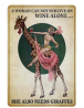 Retro Vintage Metal Sign Vintage A Woman Can Not Survive on Wine Alone She Also Needs Giraffes Repro