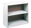 Safco Products ValueMate Economy Bookcase, 2-Shelf, Gray
